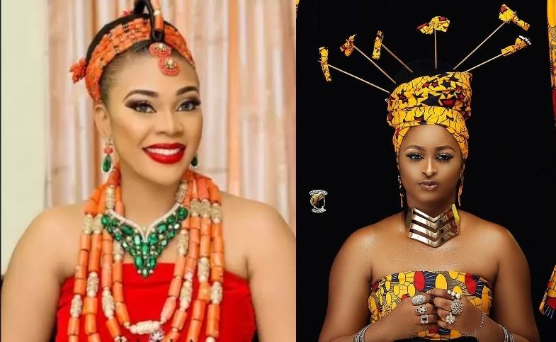Etinosa Idemudia Slams Ehi Ogbebor, Accuses Her Of Ruining A Godly Home