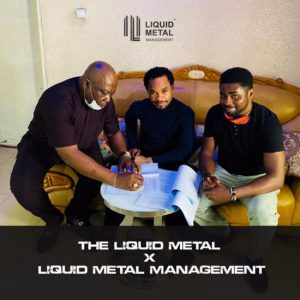 Prophet Odumeje 'The Indaboski' Signs Management Deal With Liquid Metal (Video)