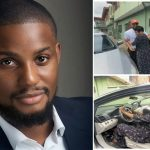 Alex Ekubo Gifts His Mum A Car To Celebrate His Chieftaincy – Video