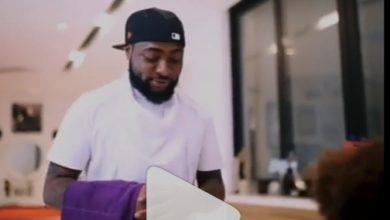"""Photo of """"He enter, skit be like movie"""" – Excitement as Davido features in a yet to be released comedy skit"""