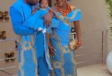 Photo of Actress Chacha Eke dedicates daughter, Diamond Faani at church as they dance in style (Video)