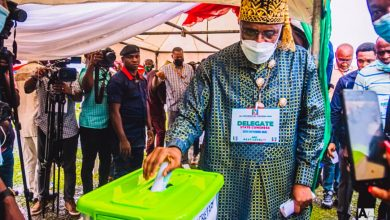 Photo of Rivers Apc Congress: 'We Are Approaching Canaan, Meet Us At The Border Between Egypt & The Promised Land' – Eze To Abe